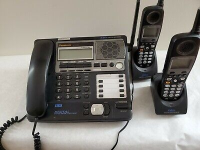 Panasonic Kx-tg4500 Digital Voice Mail System Up To 4 Lines. Office Phone System