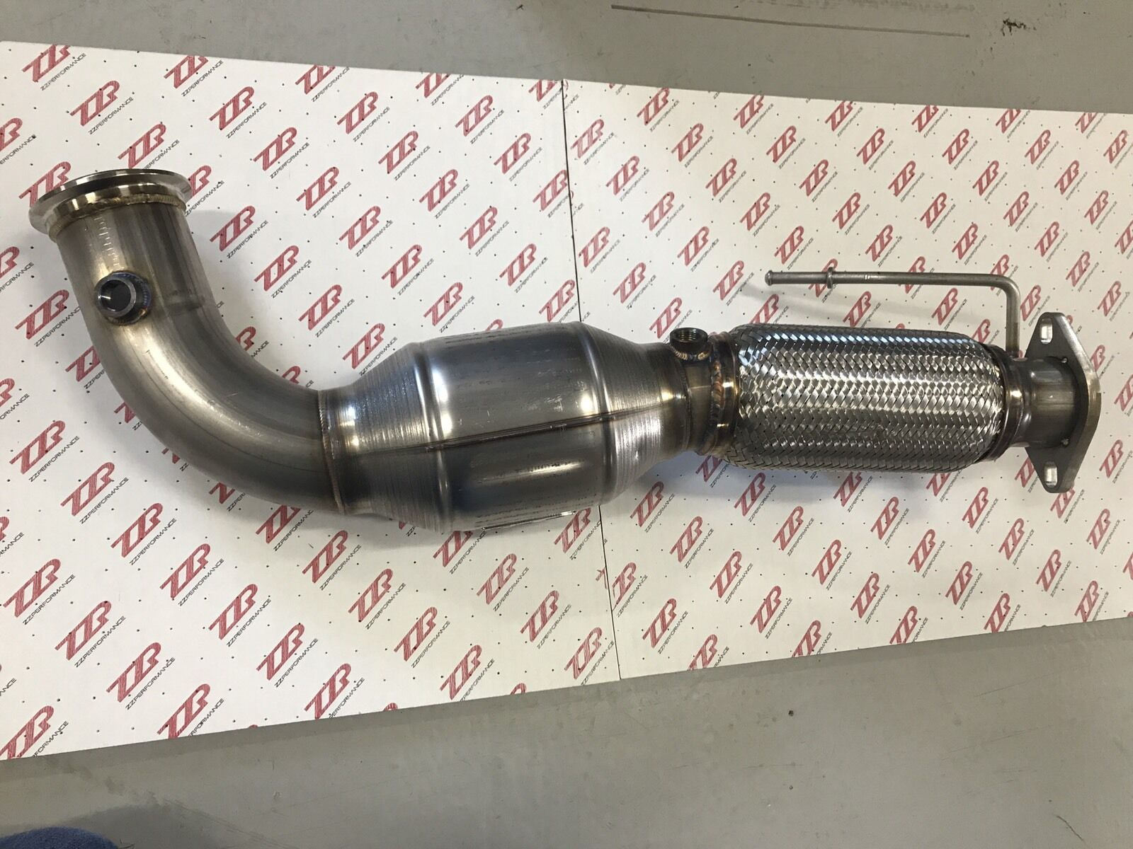 Zzp 3 Catted Stainless Downpipe 2013 16 Mkz Fusion 20l Turbo 2007 Ford Exhaust Product