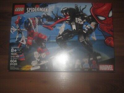 LEGO Marvel 76115 Spider Mech Vs. Venom