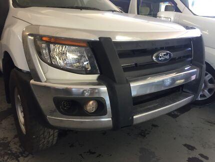 Ford Ranger Stainless Bullbar