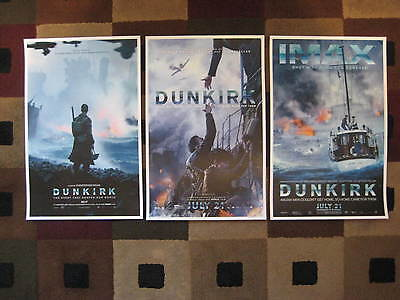 Dunkirk   11  X 17    Movie Collectors Poster Prints   Set Of 3