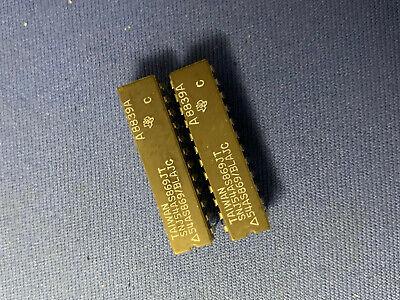 Snj54as869jt 54as869blajc Ti Ic 24-pin Cerdip Vintage Milspec Last Ones