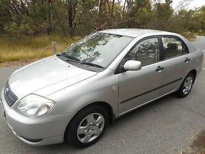 2003 Toyota Corolla Sedan LOW KS WITH REG AND ROADWORTHY!! Moorabbin Kingston Area Preview