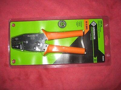 Greenlee Crimp Tool Pa1649 Wire Ferrule Crimper 10-6 Awg Pa 1600 Series