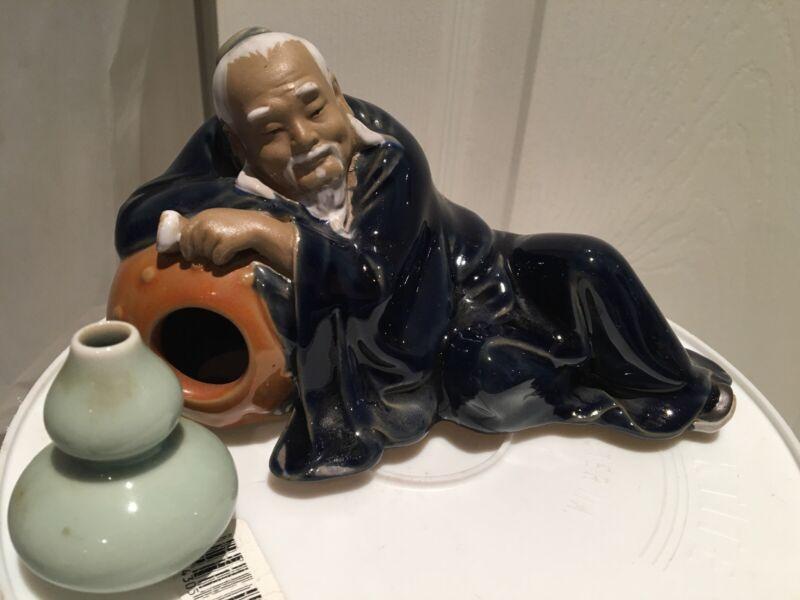 ~Vintage~ Chinese Shiwan Mudman Figurine