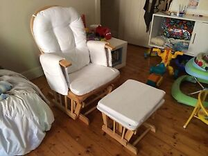 ROCKING CHAIR WHITE Croydon Burwood Area Preview