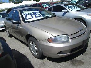2005 Chevrolet Cavalier ONLY 98,000 klm's.!