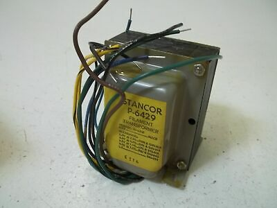 Stancor P-6429 Filament Transformer Used