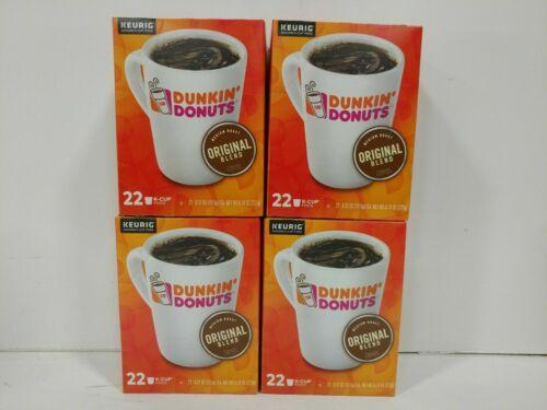 Keurig K-Cups Dunkin Donuts Original Blend Medium Roast Coffee - 88 Count * NEW*
