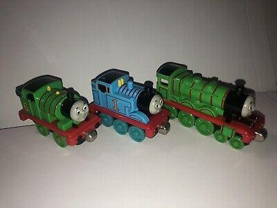 Thomas & Friends Tank Engine 2002 Take n Play THOMAS HENRY PERCY Trains Die Cast