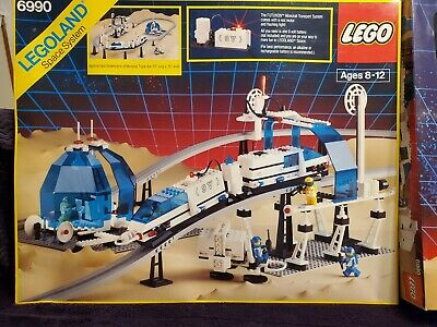 Lego Space Monorail Transport 6990 - Complete with box - Bricklink Verified