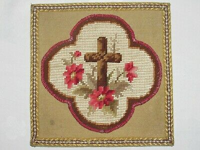 02F3 Antique Pale of Chalice Priest Embroidery Wire Gold Autel Mass Religion