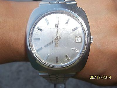 Pre-Owned, Vintage/Genuine GP Girard Perregaux, W/H Date, Nice Men's Wrist Watch