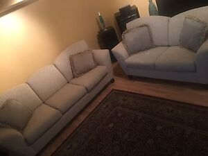 SOFAS 3 PERSON + LOVE SEAT... MUST GO. PRICE NEG