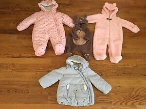 Girls Snowsuits and Jacket