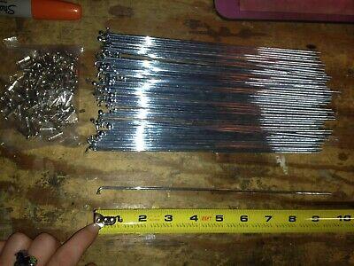 HTI Steel Bicycle Spokes /& Nipples 10 Gauge 234mm Qty18  S74