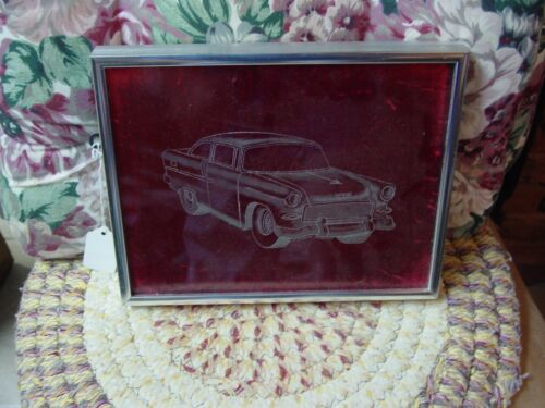 glass etching 1955 chevrolet