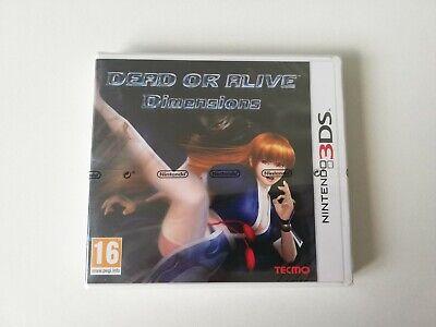 Dead Or Alive Nintendo 3DS NUEVO ESP