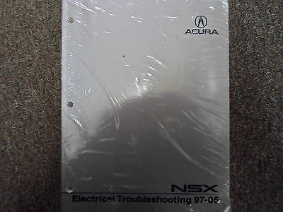 2002 2003 2004 2005 Acura NSX Electrical Troubleshooting Repair Manual NEW