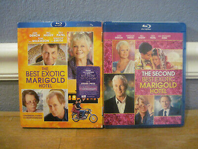 The Best Exotic Marigold Hotel & The Second Best Exotic Marigold Hotel Lot 2 (Best Exotic Marigold 2)