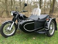 Ural Retro sidecar outfit