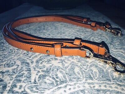 NEW MICHAEL KORS ADJUSTABLE ORANGE HANDBAG STRAP SHOULDER/CROSSBODY/CLUTCH