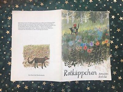 ROTKÄPPCHEN - von Brüder Grimm - Bernadette -  (broschierte  Ausgabe 1981) groß ()