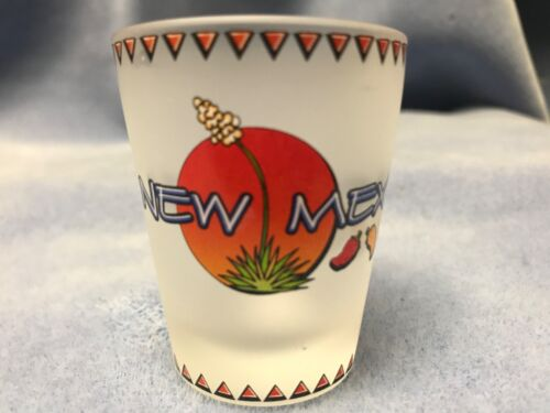 NEW MEXICO FROSTED SHOT GLASS