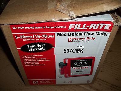 Fill-rite Flow Meter 807cmk -20 Gpm 19-76 Lpm Free Shipping