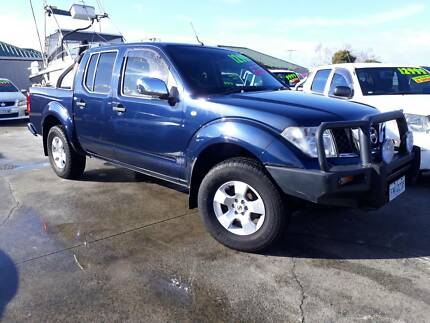 2006 Nissan Navara Ute, 6 speed manual, 4x4, Turbo diesel Invermay Launceston Area Preview