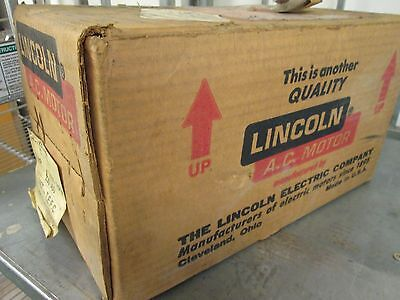 Lincoln Ac Motor Km64 2hp New Surplus