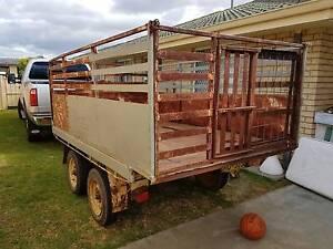 Trailer is a 5 x 9 tandon stock trailer, Busselton Busselton Area Preview