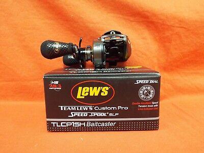 LEW'S Team Lew's Custom Speed Spool SLP Baitcast Reel Gear Ratio 7.5:1 TLCP1SH - Custom Team Gear
