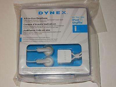 Dynex Ear Bud Headphones for Apple iPod Shuffle  **NEW**   Buy 1 Get 1 Free