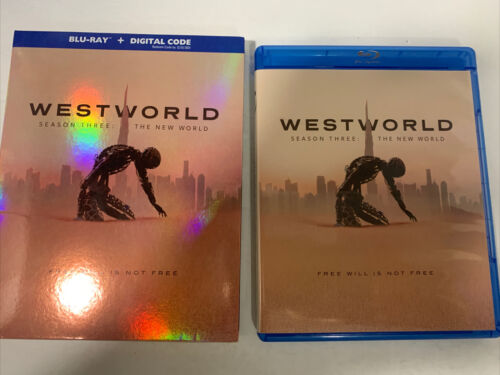 Westworld Season 3 The New World BLU-RAY SLIPCOVER, LIKE NEW, NO DIGITAL - $13.80