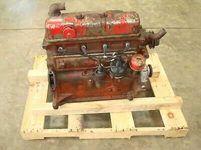 1957 Ford 640 Tractor Running Gas Engine 600