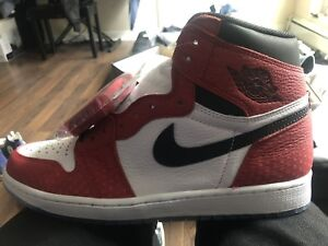 Air jordan 1 Spider man Size 10