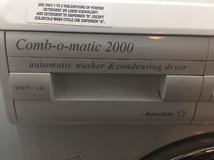Splendide Combo Matic 2000 washer and dryer all in one