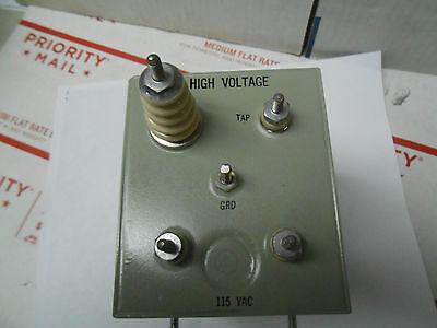 A9200-1 High Voltage Transforer115vac 60cps9.0kvdc .145 Matap 30034.5ua Nos