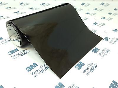 3M 2080 G12 Gloss Black Vinyl Wrap Genuine 3M Cut to Size