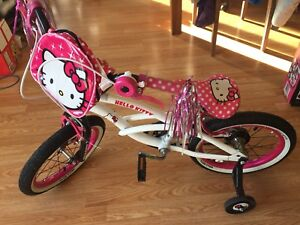 "Brand New Hello Kitty 16 "" bike with Helmet for $90"