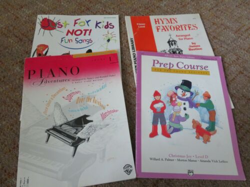 4-Piano Easy Lesson Song Book, includes, Hymn, Children Favorites, Alfred, FJH