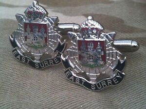 EAST-SURREY-REGIMENTAL-Military-cufflinks