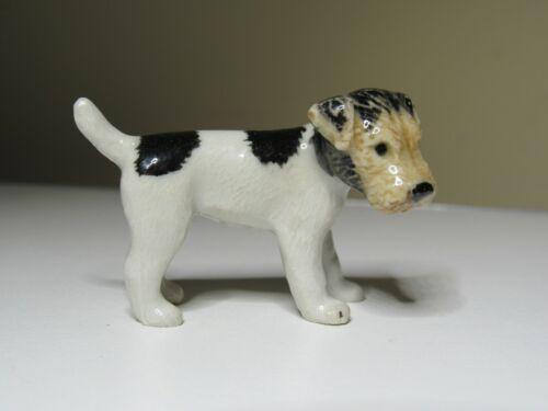 Northern Rose Porcelain Dog Figurine Fox Terrier