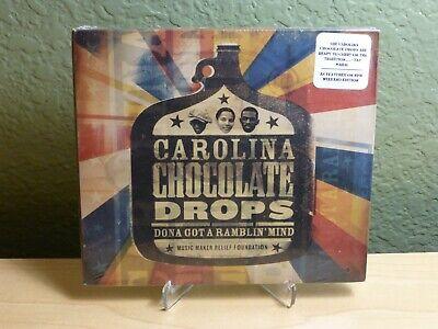 Carolina Chocolate Drops Dona Got A Ramblin' Mind New Sealed CD Digipak Rare