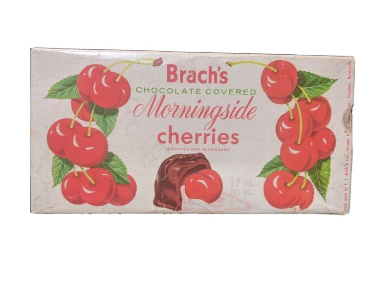 VINTAGE BOX BRACH CHOCOLATE COVERED CHERRIES