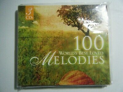 New 100 World's Best Loved Melodies by Various Artists 3 CDs New Age Easy Music