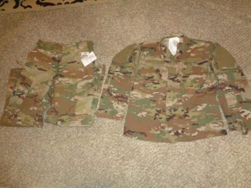USGI OCP FRACU SCORPION Camo Uniform Jacket & Pants SET * MEDIUM REGULAR * NWT