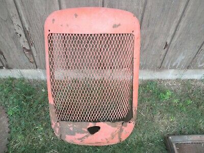 Vintage Primitive Allis Chalmers Tractor Grille Housing Screen Rat Rod Man Cave