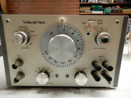 Wavetek VCG Generator Model 131A Has Been Modified - Untested AS IS